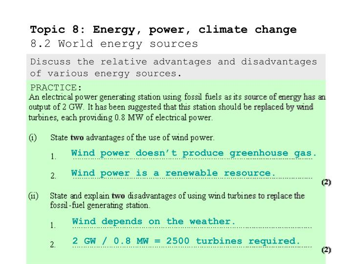 advantages and disadvantages of climate change