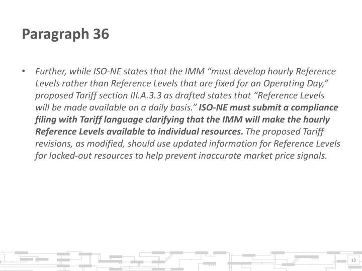 Paragraph 36