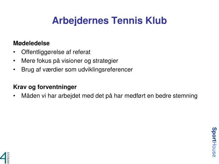 Arbejdernes Tennis Klub