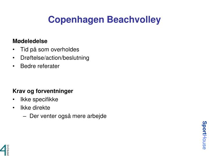 Copenhagen Beachvolley