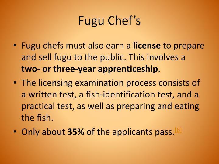 Fugu Chef's
