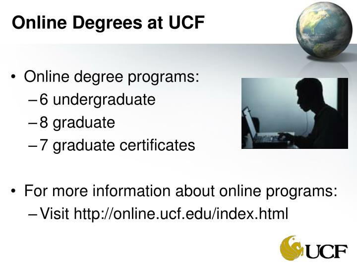 Online Degrees at UCF