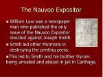 the nauvoo expositor