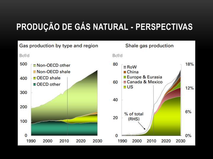 Produção de gás natural - perspectivas