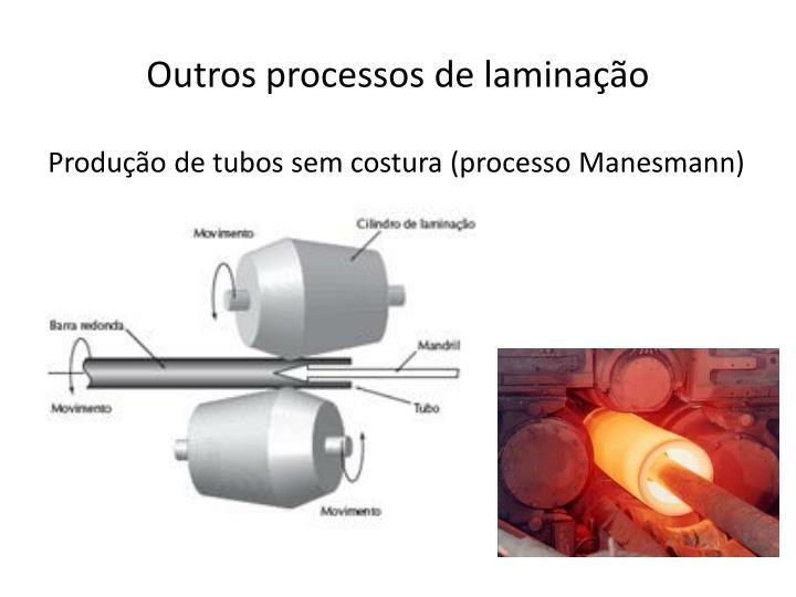 Outros processos de laminação