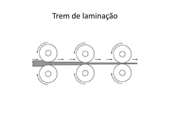 Trem de laminação