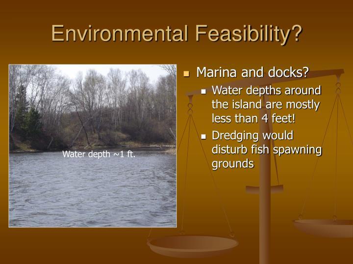Environmental Feasibility?