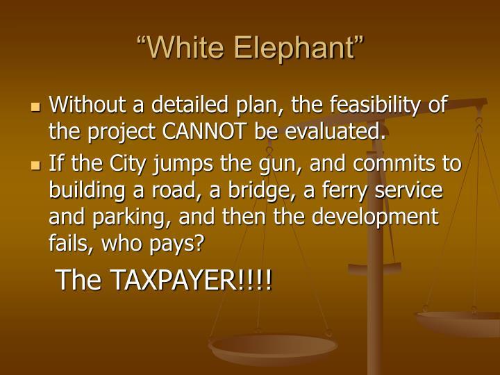 """""""White Elephant"""""""