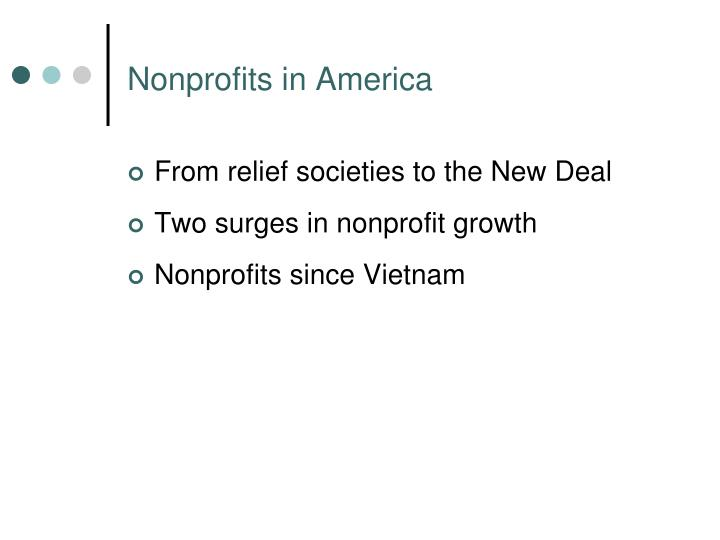 Nonprofits in america
