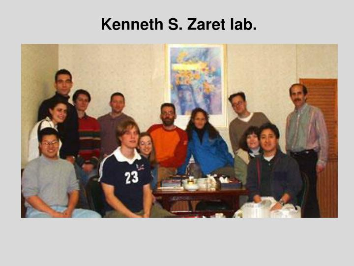 Kenneth S. Zaret lab.