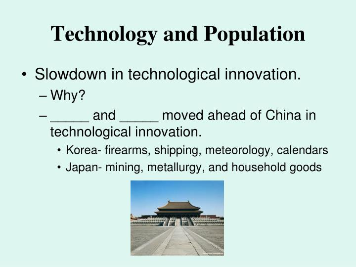 Technology and Population