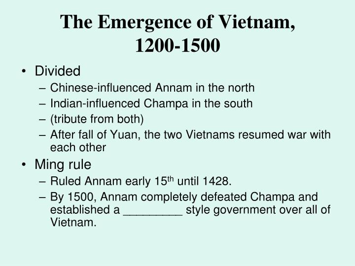 The Emergence of Vietnam,