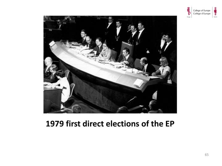 1979 first direct elections of the EP