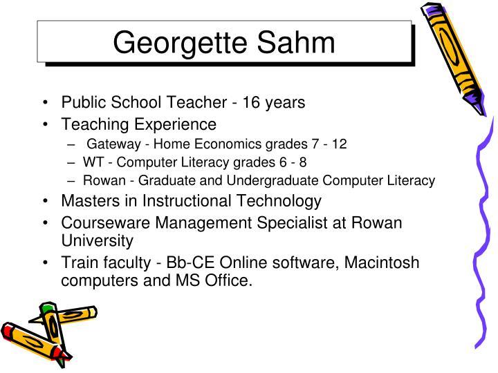 Georgette Sahm