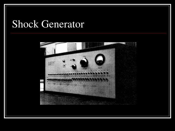 Shock Generator