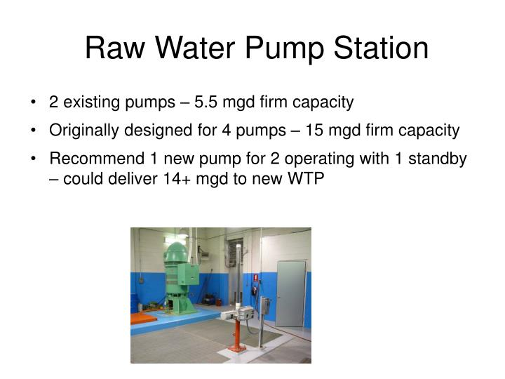 Raw Water Pump Station