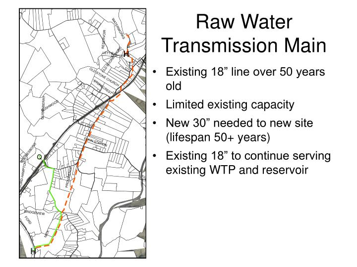Raw Water Transmission Main