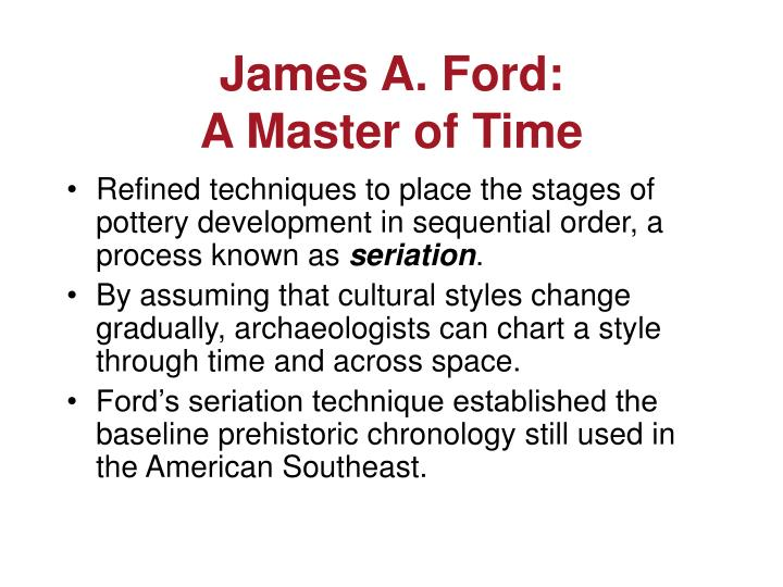 James A. Ford: