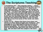the scriptures teaching1