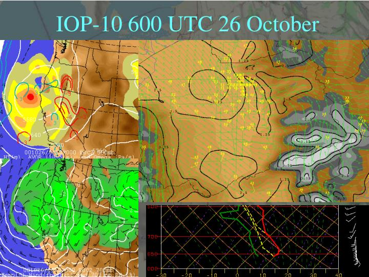 IOP-10 600 UTC 26 October