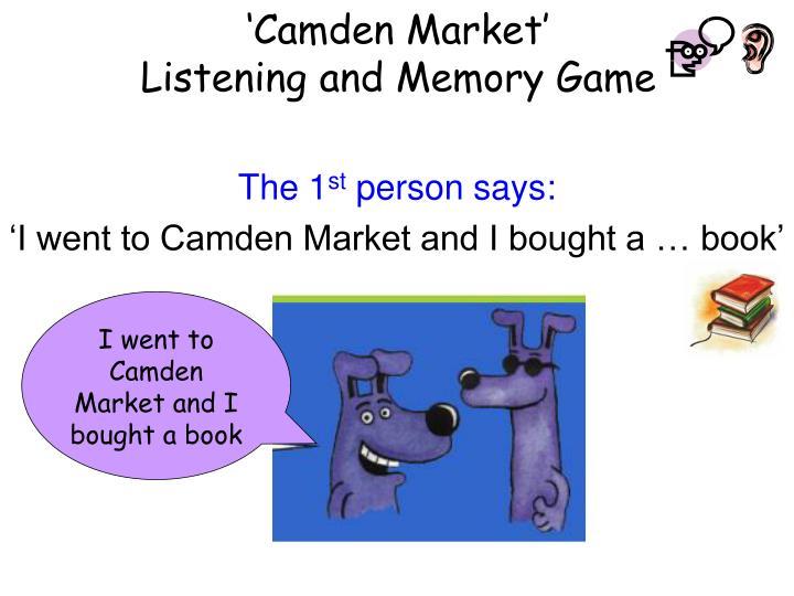 'Camden Market'