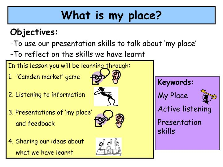 What is my place?