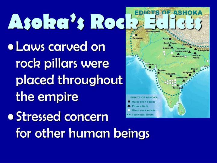 Asoka's Rock Edicts