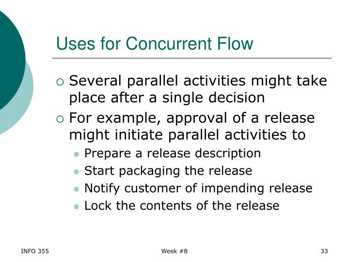 Uses for Concurrent Flow