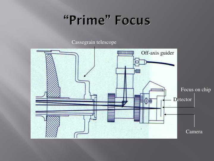 """""""Prime"""" Focus"""