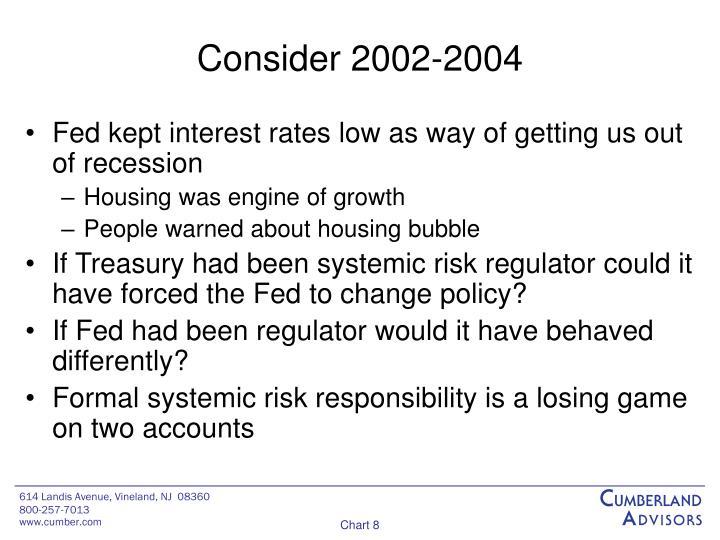 Consider 2002-2004