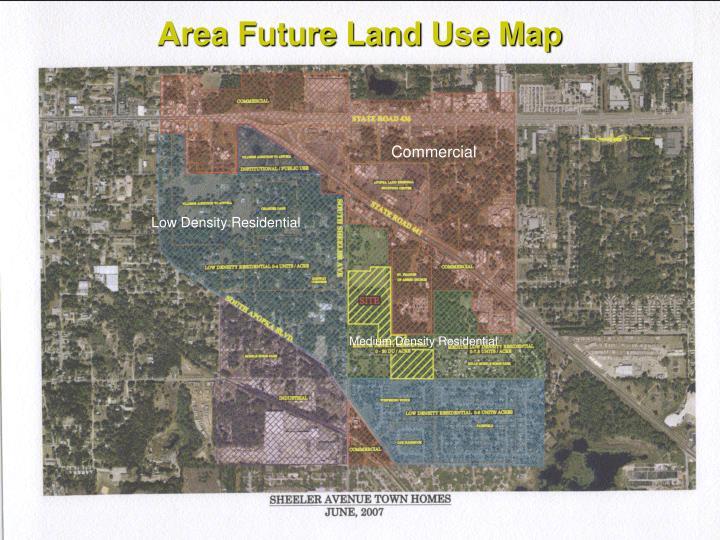 Area Future Land Use Map