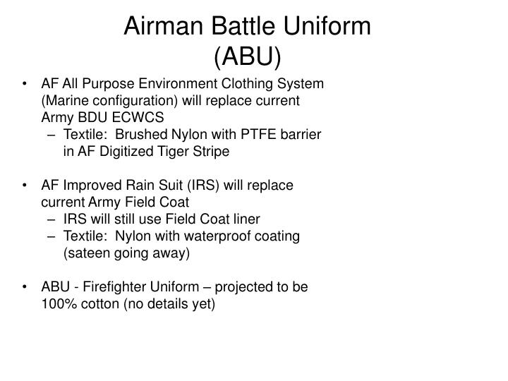 Airman Battle Uniform (ABU)