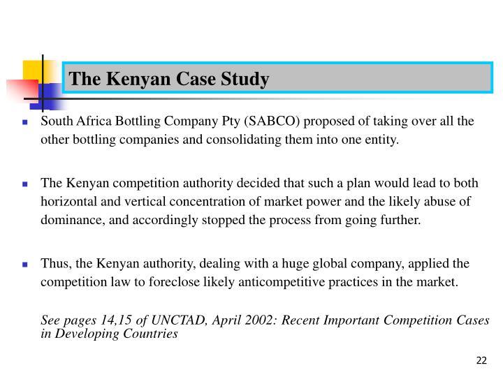 Case study-: Kenya