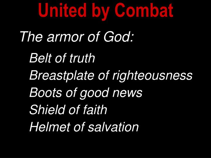 United by Combat