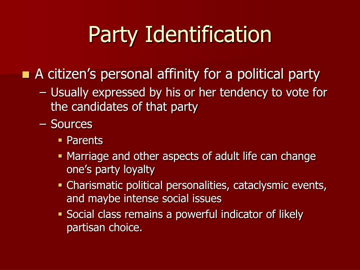 Party Identification
