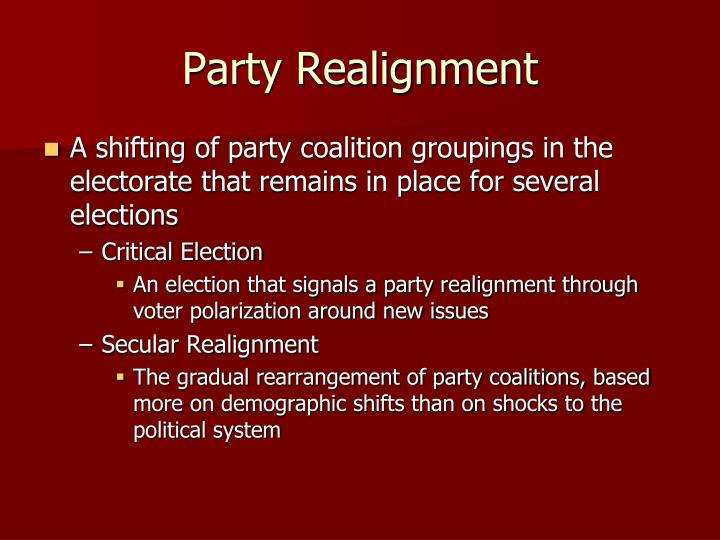 Party Realignment