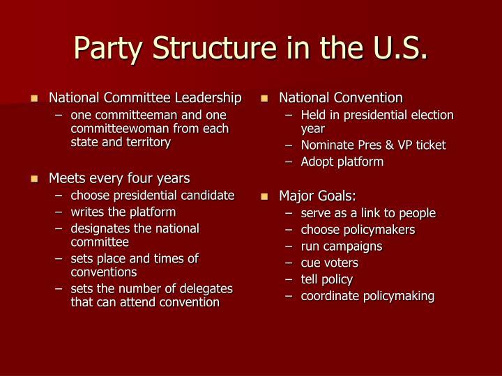 National Committee Leadership