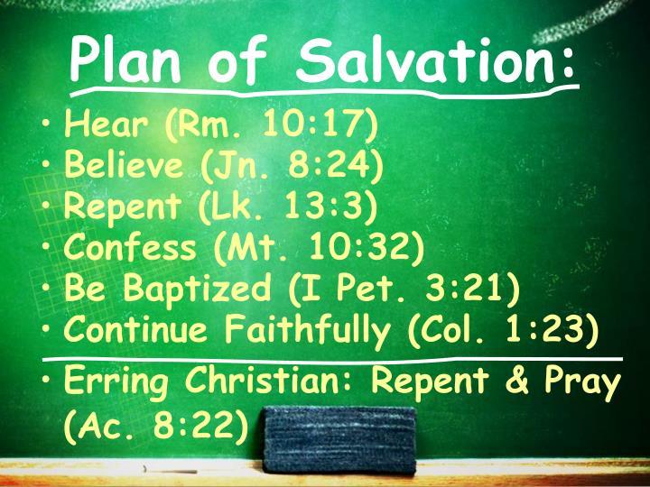 Plan of Salvation: