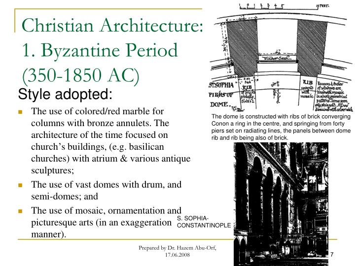 Christian Architecture: