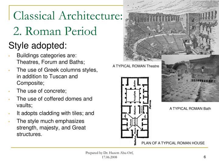 Classical Architecture: