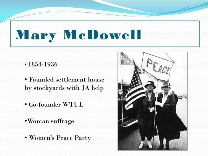 Mary McDowell