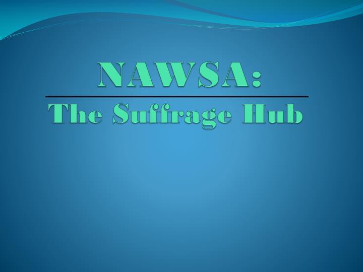 NAWSA: