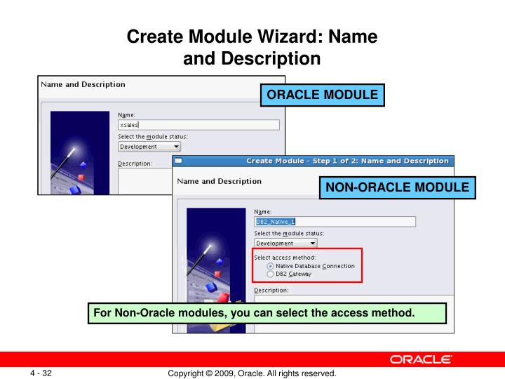 Create Module Wizard: Name
