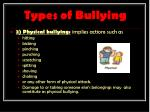 types of bullying1