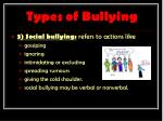 types of bullying2