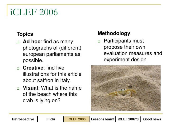 iCLEF 2006