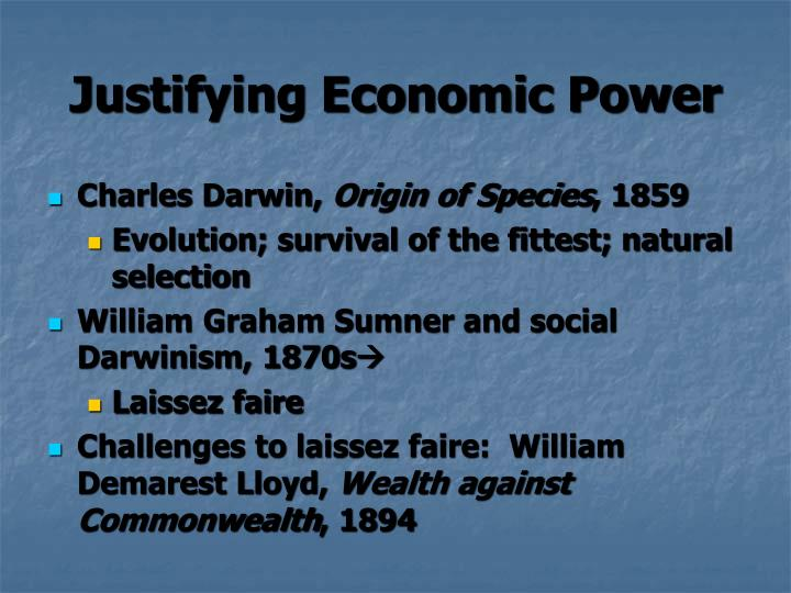 william graham sumner social darwinist essay This article argues that the traditional portrayal of william graham sumner as a social darwinist is inaccurate mainly on two of sumner's unpublished essays just.
