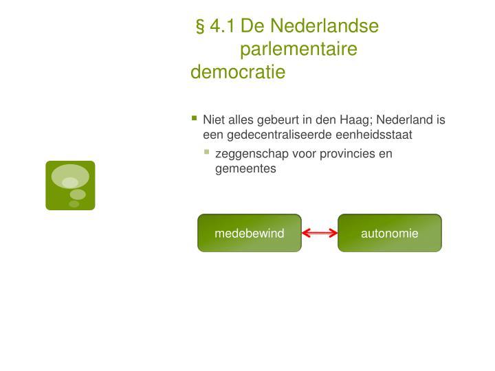 §4.1De Nederlandse