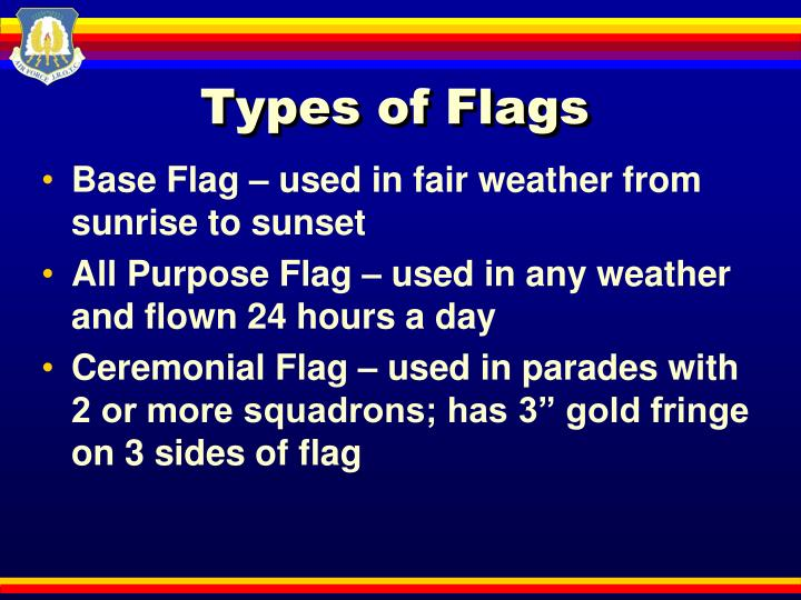 Types of Flags