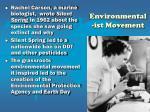 environmental ist movement